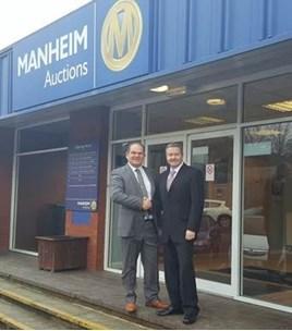 Photo of Gerry Whittington and John Matthews RAA