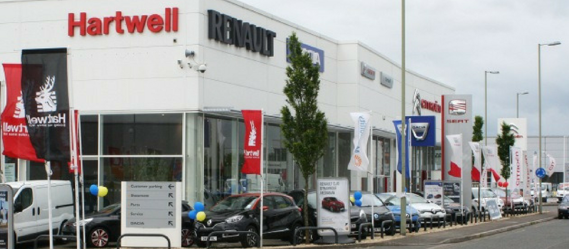 Hartwell joins the Retail Automotive Alliance
